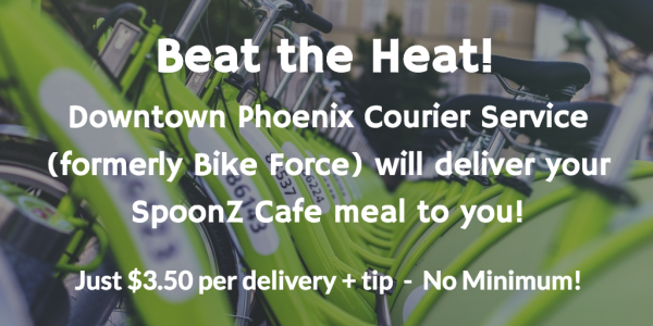 SpoonZ Bike Courier Service